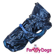 For My Dogs  - sininen sadetakki, unisex malli