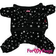 "For My Dogs - ""Night sky"" lämmin velourhaalari, unisex malli"